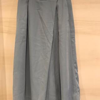 アーバンリサーチ(URBAN RESEARCH)の[全品1000円以下]水色パンツ(キュロット)
