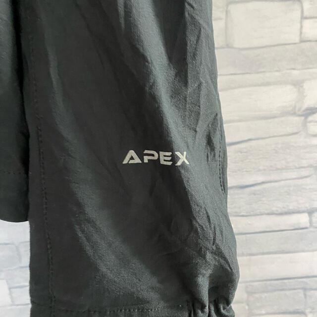 THE NORTH FACE(ザノースフェイス)の古着ノースフェイス刺繍ロゴAPEXソフトシェルジャケット メンズのジャケット/アウター(ブルゾン)の商品写真