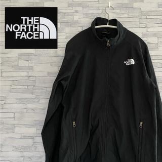 THE NORTH FACE - 古着ノースフェイス刺繍ロゴAPEXソフトシェルジャケット