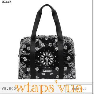 シュプリーム(Supreme)のsupreme Bandana Tarp Small Duffle Bag (トートバッグ)