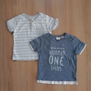 ザラ(ZARA)のZARA Tシャツ2枚 90cm(Tシャツ/カットソー)