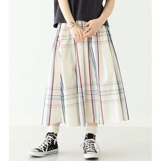ビームスボーイ(BEAMS BOY)のBEAMS BOY  ビッグ タータン チェック スカート 20SS(ロングスカート)