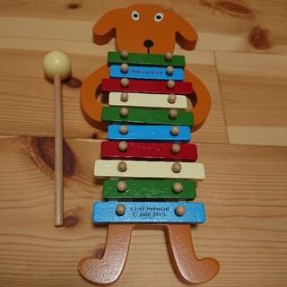 ラブアダブダブ(rub a dub dub)のRUB A DUB DUB 犬木琴(楽器のおもちゃ)