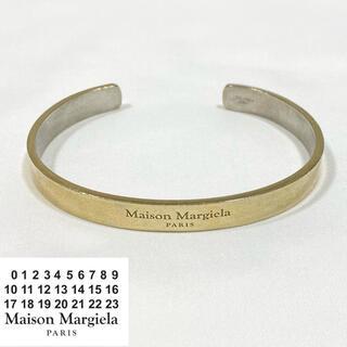 Maison Martin Margiela - 正規 MAISON MARGIELA バングル Gold Y026