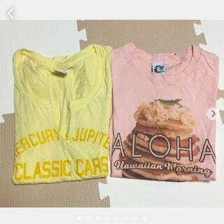 エイティーエイティーズ(88TEES)のTシャツ 2枚 moussy 88tees(Tシャツ(半袖/袖なし))