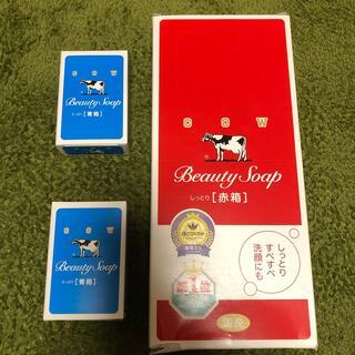 カウブランド(COW)の牛乳石鹸 カウブランド 赤箱(100g*6個入)(ボディソープ/石鹸)