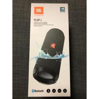 フリップ(Flip)のJBL FLIP4 《BLACK》 Bluetooth スピーカー(スピーカー)