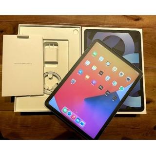 アイパッド(iPad)のipad air 第四世代 4th スカイブルー  64GB Wifi(タブレット)