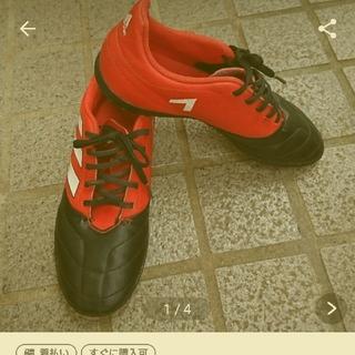 アディダス(adidas)の専用☆アディダスサッカー フットサルシューズ 23.5㎝ 通学靴 スパイク (シューズ)