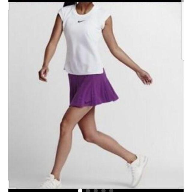 NIKE(ナイキ)のお取り置き3点 NIKEシャラポワトップスとインナー バイザー( FILA スポーツ/アウトドアのテニス(ウェア)の商品写真