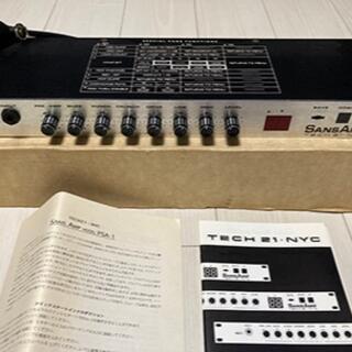 【hideサウンドの心臓部!】Tech 21 / SANSAMP PSA-1(エフェクター)