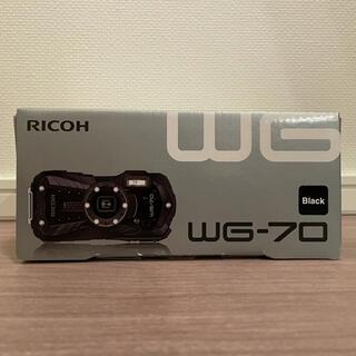 RICOH - 美品 RICOH WG-70 ブラック リコー