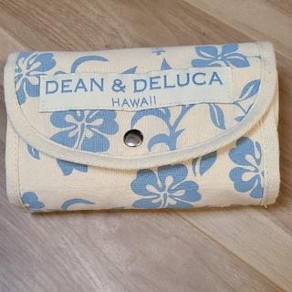 ディーンアンドデルーカ(DEAN & DELUCA)のDEAN&DELUCA  ディーンアンドデルーカ エコバッグ 水色 限定(エコバッグ)