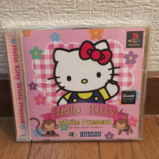プレイステーション(PlayStation)のハローキティ ホワイトプレゼント(家庭用ゲームソフト)