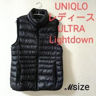 ユニクロ(UNIQLO)の美品 UNIQLO ULTRALightdown ウルトラライト ダウンベスト(ダウンベスト)