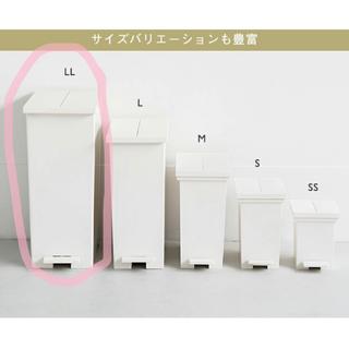 KEYUCA ケユカ arrots ダストボックス ゴミ箱 LL ホワイト(ごみ箱)