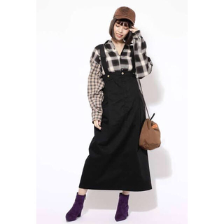 ROSE BUD - 最終価格!ROSEBUD/universal overall サロペスカート