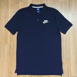 ナイキ(NIKE)の良品 NIKE ナイキ ポロシャツ ゴルフシャツ M ネイビー(ポロシャツ)