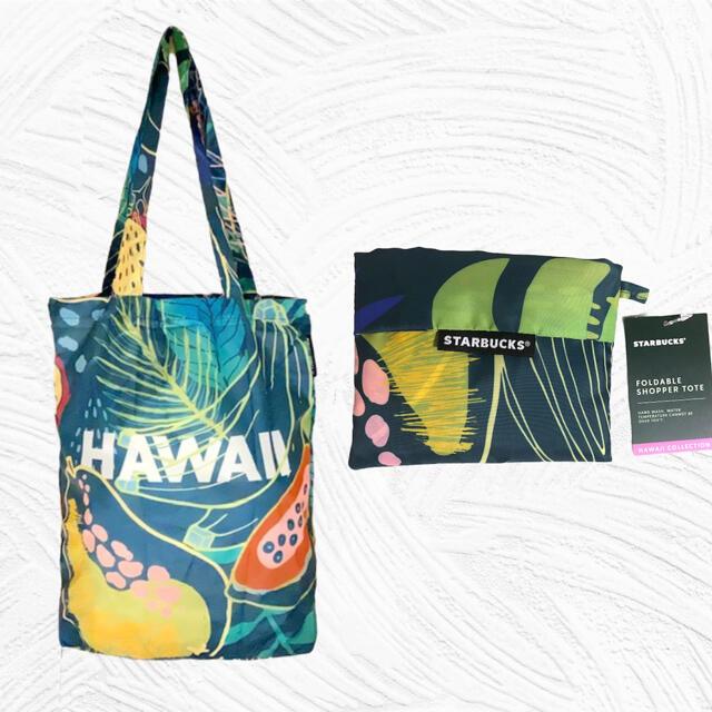 Starbucks Coffee(スターバックスコーヒー)の【エコキャンペーン】【ハワイ限定】スタバ エコバッグ レディースのバッグ(エコバッグ)の商品写真