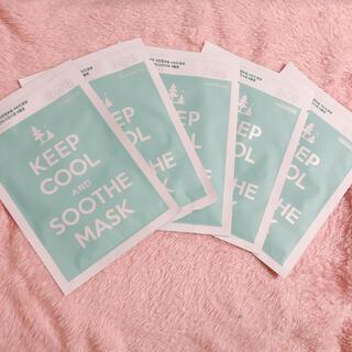 KEEP COOL シートパック 5枚入(パック/フェイスマスク)