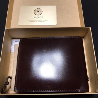 GANZO - GANZO ガンゾ CORDOVAN コードバン 小銭入れ付き二つ折り財布