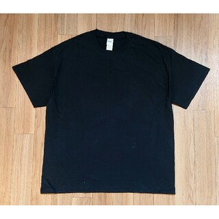 ギルタン(GILDAN)の新品 GILDAN ギルダン 半袖Tシャツ  ビッグシルエット XL ブラック(Tシャツ/カットソー(半袖/袖なし))