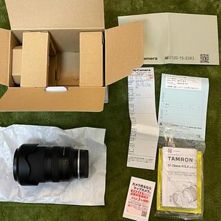 タムロン(TAMRON)の保証付 TAMRON 17-70mm F/2.8 Di III-A VC RXD(ミラーレス一眼)