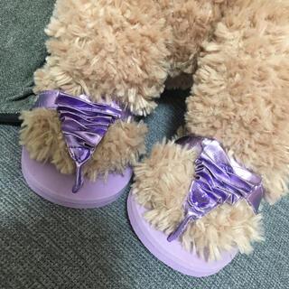 シェリーメイ(シェリーメイ)のビルドアベア☆ダッフィ・シェリーメイサイズのサンダル、靴(ぬいぐるみ)