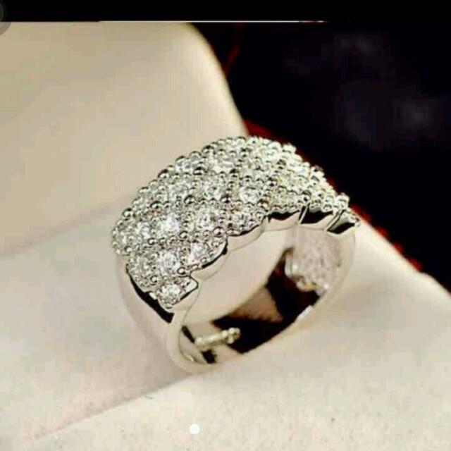 可愛い綺麗リング結婚指輪10-19号 レディースのアクセサリー(リング(指輪))の商品写真
