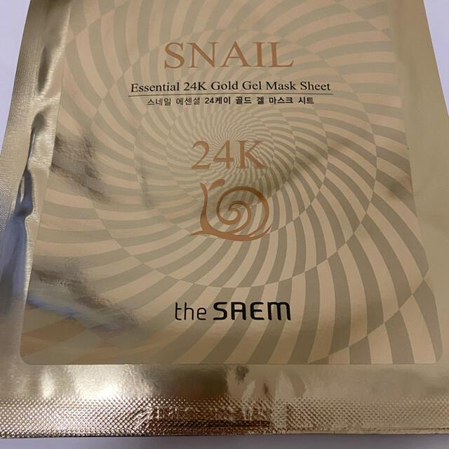 the saem(ザセム)のザセム エッセンシャルゴールドジェルマスクシート5枚セット コスメ/美容のスキンケア/基礎化粧品(パック/フェイスマスク)の商品写真