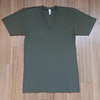 アメリカンアパレル(American Apparel)の新品 American Apparel アメリカンアパレル  半袖Tシャツ S(Tシャツ/カットソー(半袖/袖なし))