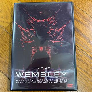 ベビーメタル(BABYMETAL)のBABYMETAL LIVE AT WEMBLEY  DVD(ミュージック)