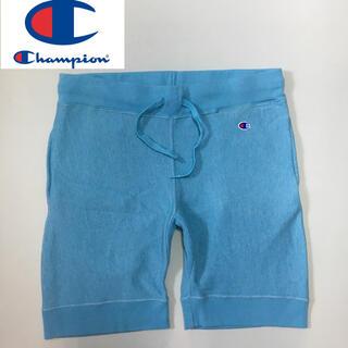 チャンピオン(Champion)のChampion チャンピオン リバースウイーブ ハーフパンツ  ブルー XL(ショートパンツ)