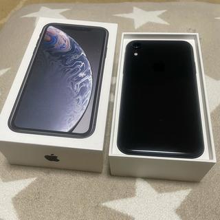 アップル(Apple)のiPhoneXR  スペースグレイ 64GB SIMフリー(スマートフォン本体)