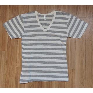 アメリカンアパレル(American Apparel)のAmerican Apparel  アメリカンアパレル  ボーダーTシャツ S(Tシャツ/カットソー(半袖/袖なし))