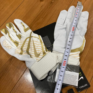 ナイキ(NIKE)の【日本未発売】ナイキ バッティング手袋 Lサイズ(グローブ)