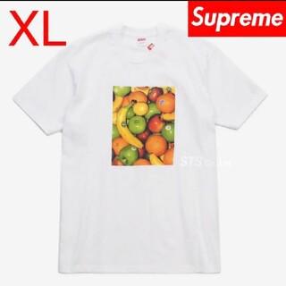 シュプリーム(Supreme)のSupreme Fruit Tee XLサイズ White(Tシャツ/カットソー(半袖/袖なし))