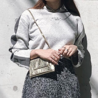 アメリヴィンテージ(Ameri VINTAGE)のOLD CLOTHES LIKE HOODIE(パーカー)