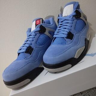 ナイキ(NIKE)のAir Jordan4 University Blue 28(スニーカー)