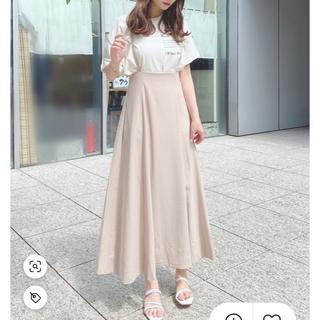 ローズバッド(ROSE BUD)の【新品未使用】ストラップハイウエストスカート(ロングスカート)