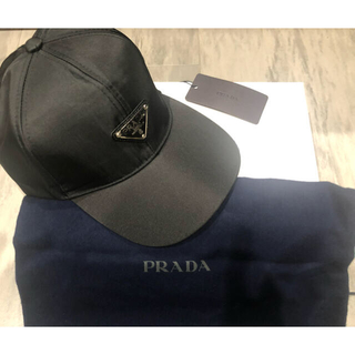 PRADA - PRADA ロゴ キャップ