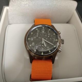 TIMEX - 【国内正規】Timex MK1 Aluminum Chrono Orange