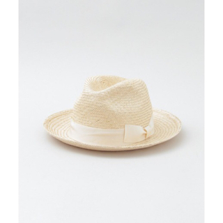 アーバンリサーチ(URBAN RESEARCH)のタグ付き新品☆ストローハット Benelli RIBBON HAT(麦わら帽子/ストローハット)