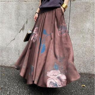 アメリヴィンテージ(Ameri VINTAGE)のELLA CIRCULAR SKIRT(ロングスカート)