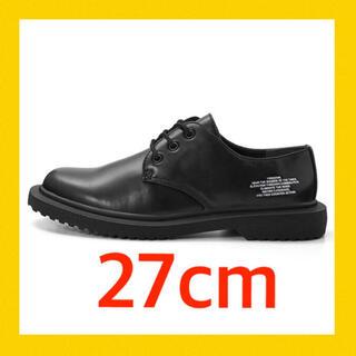 アンダーカバー(UNDERCOVER)の27 黒 新品 アンダーカバー コラボ シューズ 靴 tシャツ パーカー新作(ドレス/ビジネス)
