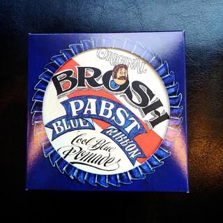 ブロッシュ ポマード BROSH 115g パブスト ブルーリボン ver   (ヘアワックス/ヘアクリーム)