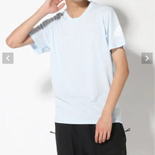 アディダス(adidas)のadidas アディダス 半袖 Tシャツ クルーネック 新品未使用(ウォーキング)