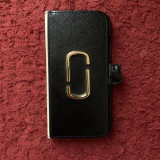 マークジェイコブス(MARC JACOBS)のマークジェイコブスのiPhone手帳型カバー(iPhoneケース)