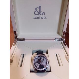 マークジェイコブス(MARC JACOBS)の付属品完備 ワールドマップ5タイムゾーン ジェイコブ ダイヤベゼル(腕時計(アナログ))