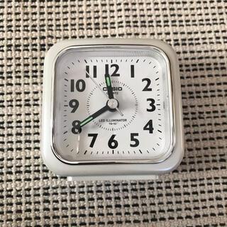 カシオ(CASIO)のCASIO アナログめざまし時計(置時計)